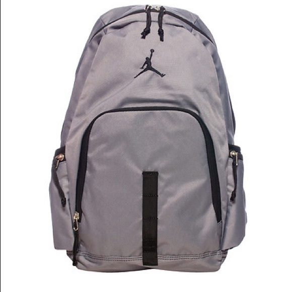 Air Jordan Other - Nike Air Jordan Grey Backpack bag Bookbag large c7efa5fe6c