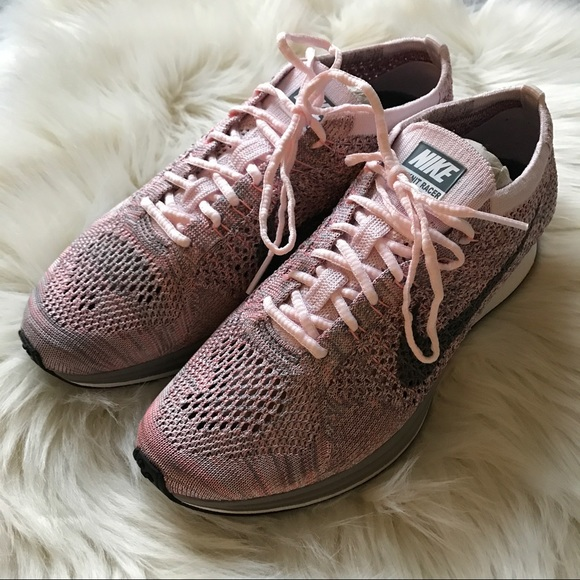 3553a7a238bf NEW Nike Flyknit Racer Macaron Pack Strawberry