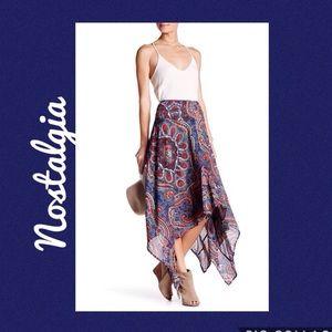 Nostalgia Dresses & Skirts - Haley Handkerchief Hem Skirt Ladies XL