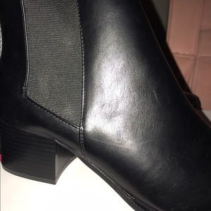 JustFab Shoes - JustFab Kelys Size 9 Black, Pointy Ankle Boots