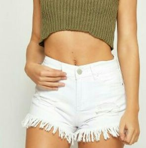 Urban Outfitters Pants - Urban Outfitters Black High Waisted  Denim Shorts