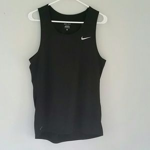 Mens Nike Dri-Fit Workout Tank NWT Black