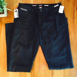 Superdry Pants - Superdry wool blend pant charcoal gray NWT