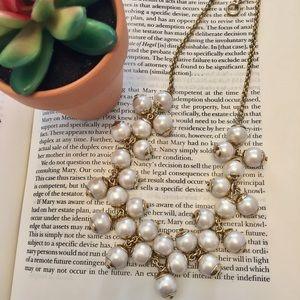 J. Crew Jewelry - J. Crew • Floating Pearl Necklace