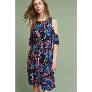 Anthropologie Open Shoulder Dress by Maeve