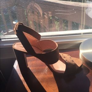 Madewell high heel sandals