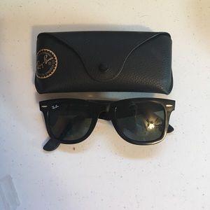 Ray-Ban Accessories - Ray-Ban Original Wayfarer Black Sunglasses