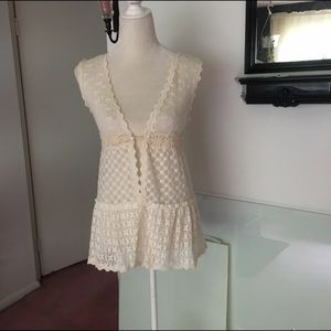 Solitaire Sweaters - Solitaire Crochet Lace Cardigan