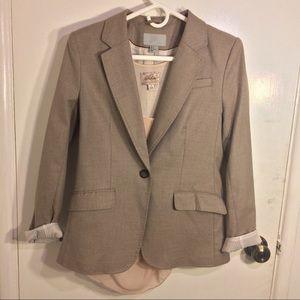 H&M Jackets & Blazers - H&M Long Beige Blazer