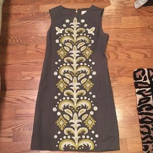 Anthropologie Tabitha embroidered shift dress