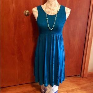 Dresses & Skirts - Bright blue summer dress