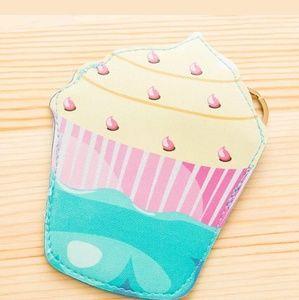 Cupcakes & Pastries Handbags - Cupcake Keychain Coin Bag.
