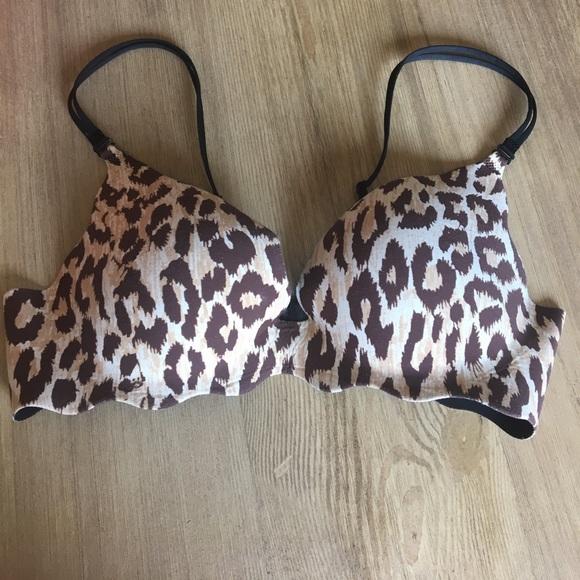 8f5fbd365d Victoria s Secret Very Sexy Animal Print Bra. M 594bc5ed291a35bbc0029c51