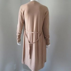 Autumn Cashmere Sweaters - AUTUMN CASHMERE CAMEL LONG CARDIGAN DUSTER MAXI