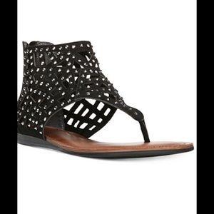 Fergalicious Shoes - Fergalicious  Rhinestone Embellished Sandals