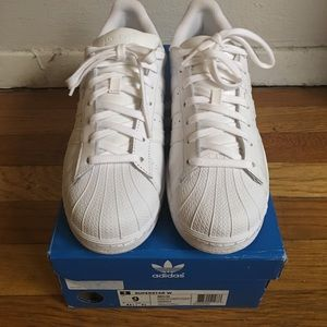 adidas Shoes - White Adidas Superstar