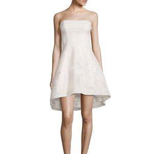 Black Halo Dresses & Skirts - {black halo} Linda white strapless cocktail dress