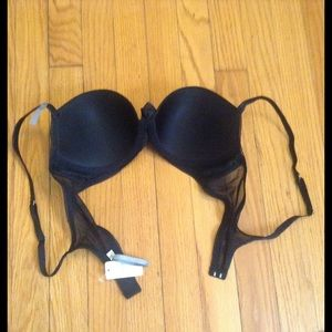aerie Intimates & Sleepwear - NWT Aerie Black Reese Sparkly Push Up Bra Sz 34C