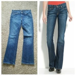 7 for all Mankind Long Bootcut Jeans
