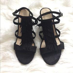 Unisa Shoes - Fringe wedge