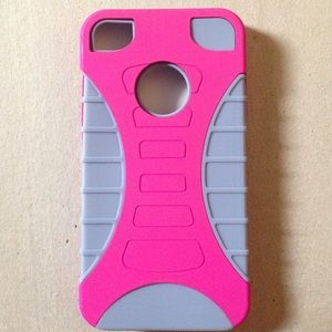 Accessories - 2/$5! iPhone 4/4S rubber case & shell.