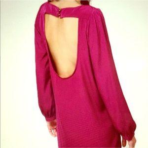 Lulu's Dresses & Skirts - Purple LuLu's dress with open back detail