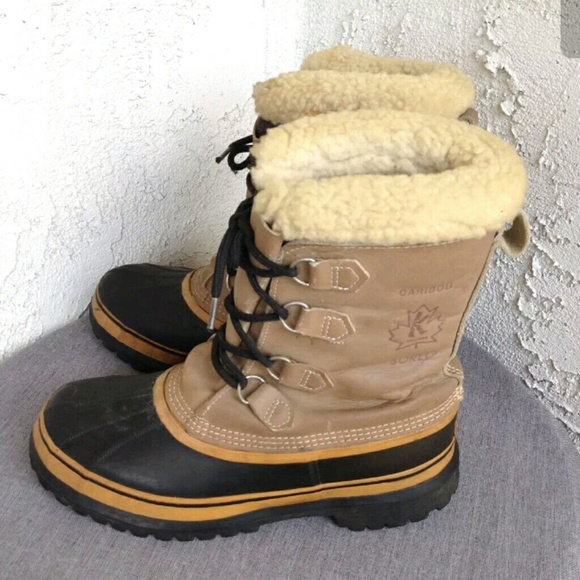 798134e6bd4 Mens Sorel Snow Boots Waterproof Insulated Sz 10