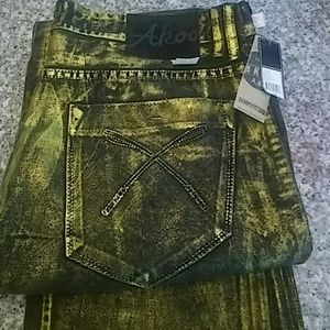 Akoo Other - AKOO Gold dust Jeans