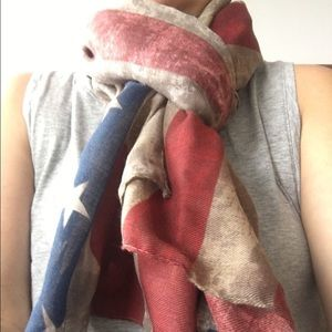 Free People Accessories - Flag Scarf/shawl