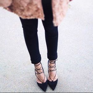 Marc Fisher Shoes - Classy Lace up Heels
