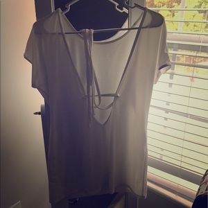 lululemon athletica Tops - Lulu white shirt