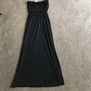 F21 Strapless maxi dress