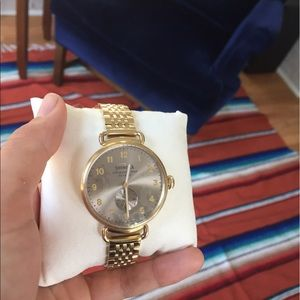 """Shinola Accessories - brand new """"the Canfield"""" 38mm"""
