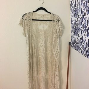 Flynn Skye Other - Pretty lace duster