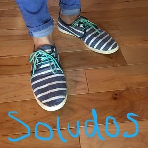 Soludos Shoes - Soludos Lightweight Tie-Up Shoes - Size 8