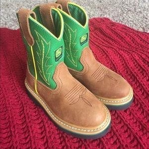 John Deere Other - Kids John Deere Boots (Never Been Worn)