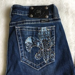 "Miss Me Denim - Miss Me Long Bootcut Jeans Size 31x35.5"""