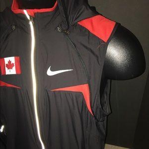 Nike Jackets Coats Team Canada Windbreaker Men S Size Large 3ff1b38cf