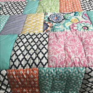 66% off Pottery Barn Teen Other - Patch It To Me Quilt and 4 Shams ... : patch it to me quilt - Adamdwight.com