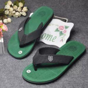 Other - Green flip flops