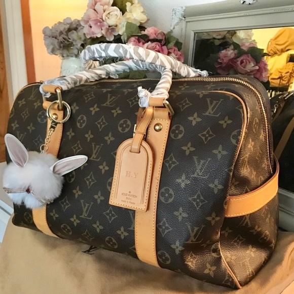 073eb2e4403b9 Louis Vuitton Handbags - Authentic Louis Vuitton Carryall Boston 45