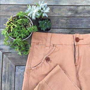 Anthropologie Dresses & Skirts - Anthropologie G1 Brand Orange Cotten Skirt, Sz 2