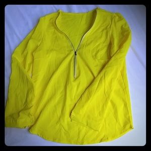 Tops - Blouse with front zipper