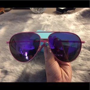 Celine Accessories - Authentic Celine Polarized Pink Aviator Sunglasses