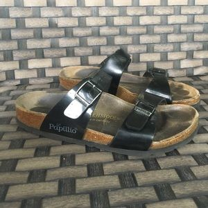 Birkenstock Shoes - Black papillio by Birkenstock sandal 38
