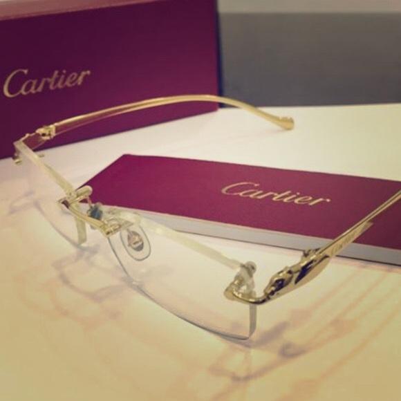 Cartier Accessories | All Gold Glasses | Poshmark