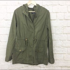 Cotton On Jackets & Blazers - Cotton on army green lightweight utility jacket