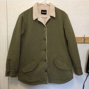 Monrow Jackets & Blazers - Sherpa Coat Jacket