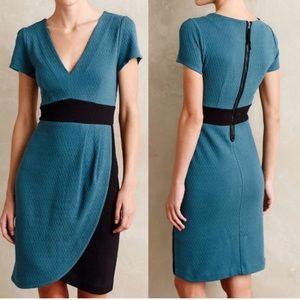 NWT Maeve Anthropologie Blue Tulip Hem Dress
