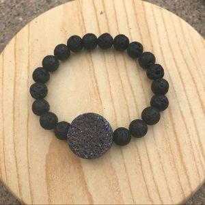 handmade Jewelry - Handmade Lava Diffuser Stone Bracelet